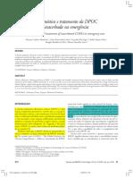 Diagnostico e Tratamento Da DPOC