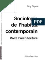 p666 Sociologie Habitat Extraits