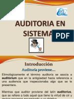 Introduccion Auditoria Sistemas