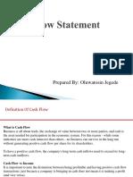 Cash Flow Presentation 1