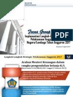 Paparan Juknis Langkah Strategis PA 2017 - Versi Satker
