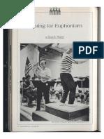 scoring for euphonium
