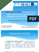 Hipertension Arterial - Relac Habitos Alimentarios Pacientes Con Sobrepeso y Obesidad - Cba