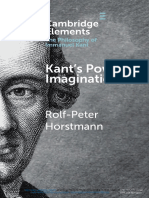 Kants Power of Imagination