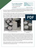10342 Essais Destructifs Sur Eprouvettes en Beton Et Acier Darmature Ensps
