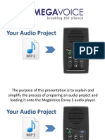 Loading Audio Bibles Guide