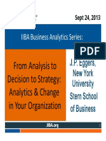 20130924 BASeries From Analysis to Decision to Strategy