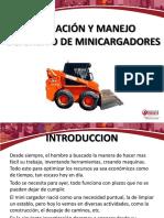 Seguridad y Manejo Defensivo de Minicargador