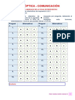 Examen Comunicacion Con Ficha Optica