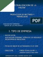 """""""Industrializacion de La Fruta"""""""
