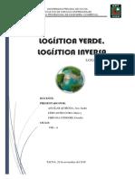 Log. Inversa, Log, Verde