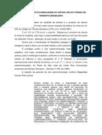 Inconstitucionalidade Do Art. 305 Do CTB
