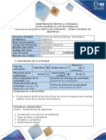 Guia de actividades y rubrica de evaluación - Etapa 2 – Análisis de Algoritmos.pdf