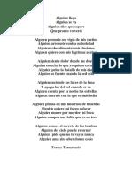 Poema - Letras II