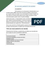 Guardar Un Documento en Word