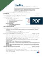 Sierra Findley Resume