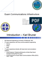 Guam Military Comm Infrastructure MAR 2008