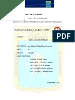 Informe Mecanica Suelos Final