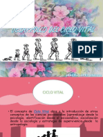 Ciclo Vital PSICOLOGIA