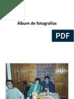 Álbum de fotografías familiares