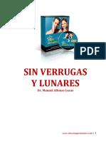"""""""Sin Verrugas Y Lunares""""Por Manuel Alfonso Lucas"""