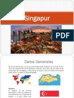 Presentación Singapur
