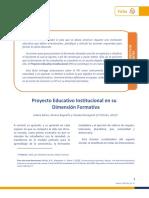 Proyecto Educativo PEI