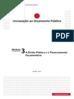 Modulo 3 - A Dívida Pública e o Financiamento Orçamentário.pdf