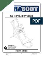 Parabody Hip Sled