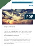 ORAÇÃO DA MANHÃ - ORAÇÃO E FÉ.pdf