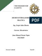 Microcontroladores Practica 1