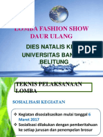 Lomba Fashion Show