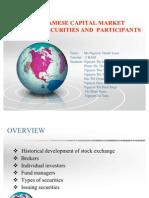Vietnamese capital market and participants