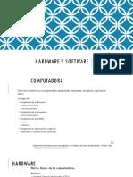 Unidad 2 Hardware y Software