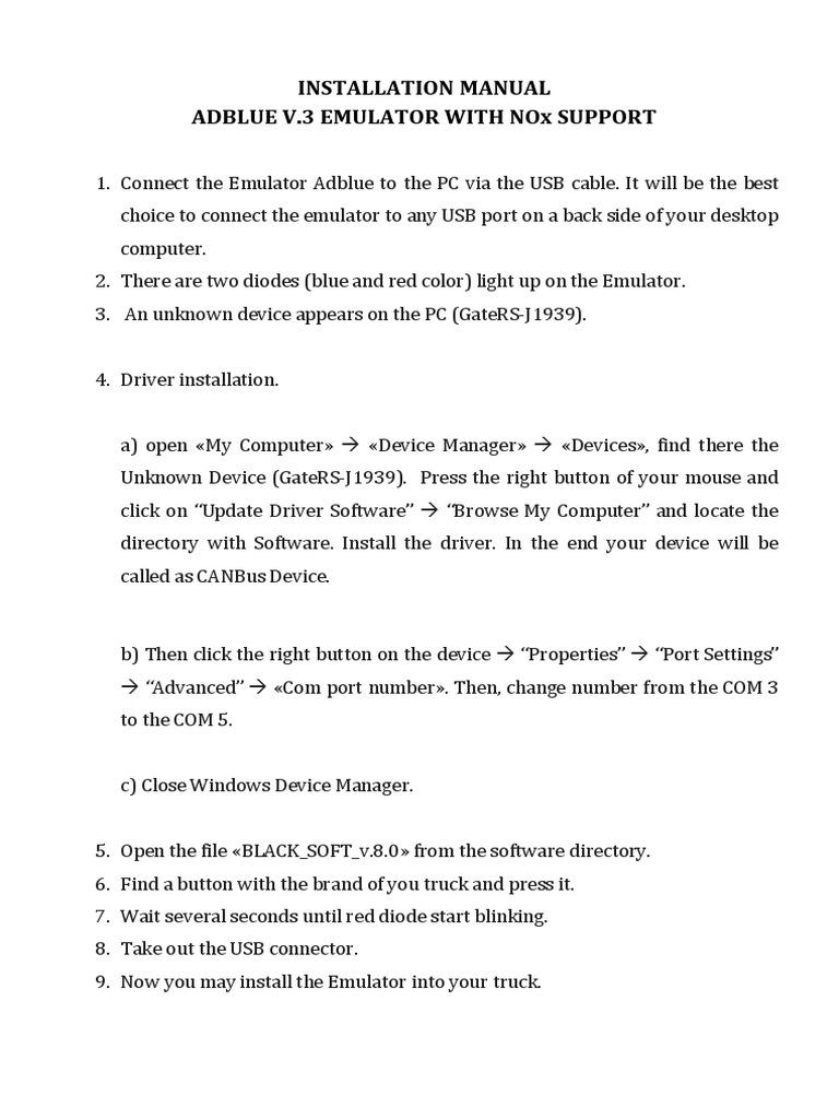 Installation Manual Docx