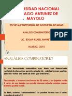 2_Análisis Combinatorio - SESION2