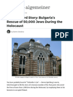 The Unheard Story_ Bulgaria's Rescue of 50,000 Jews During the Holocaust