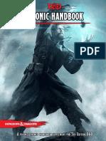 Psionics Handbook 5e
