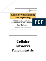 Doc1-RadioNetworkPlanning and Engineering