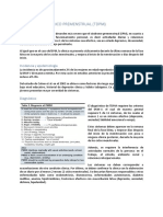 TDPM ginecología
