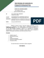 Informe de Requerimiento de Card en Alumin