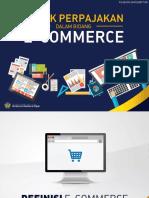 10 Aspek Perpajakan Dalam Bidang E-Commerce
