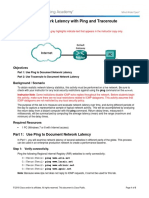 11.3.2.4 Lab - Testing Network Latency With Ping and Traceroute-Instructor