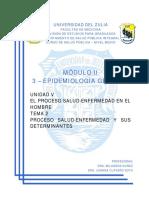 V-2 - Proceso Salud-Enfermedad y Sus Determinantes