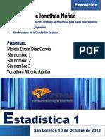 Informe de Estadistica