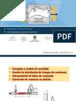 Unidad III - No idealidad en reactores químicos.ppt