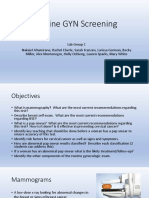 gyn screening presentation