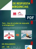 Plan de Respuesta a Emergencias Parte 1