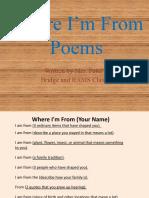 2010-2011 Class Poetry E-Book
