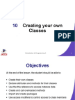 JEDI Slides-Intro1-Chapter 10-Creating Your Own Classes